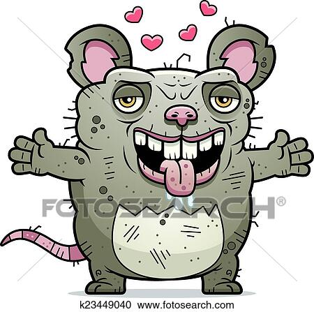 Ratten Clipart - Lizenzfrei - GoGraph