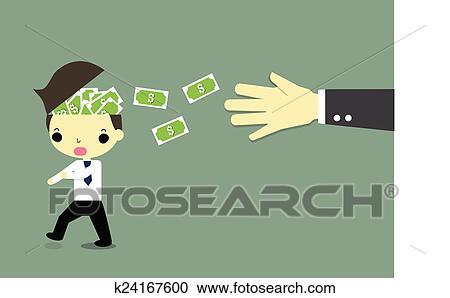 clipart roubar dinheiro k24167600 busca de ilustrações clip