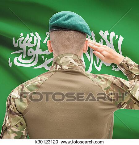 قومي القوى العسكرية ب ب طة يوم الخلفية خيالي تسلسل السعودية ألبوم الصور K30123120 Fotosearch