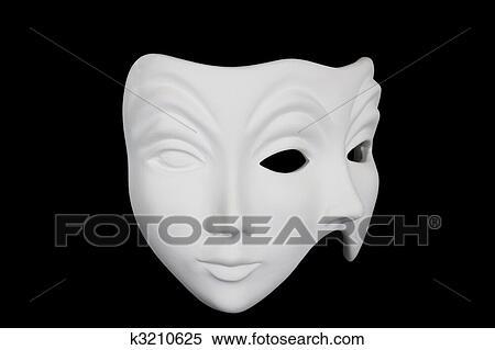 blanc masque facial