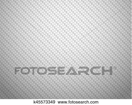 Vector White Carbon Fiber Volume Background Clip Art