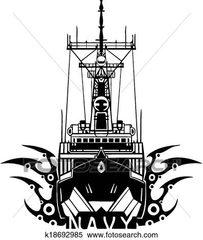 Clipart Of Navy Military Design