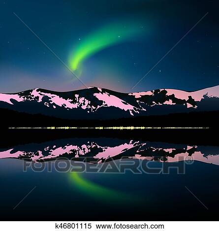 Aurora Road Images, Stock Photos & Vectors   Shutterstock
