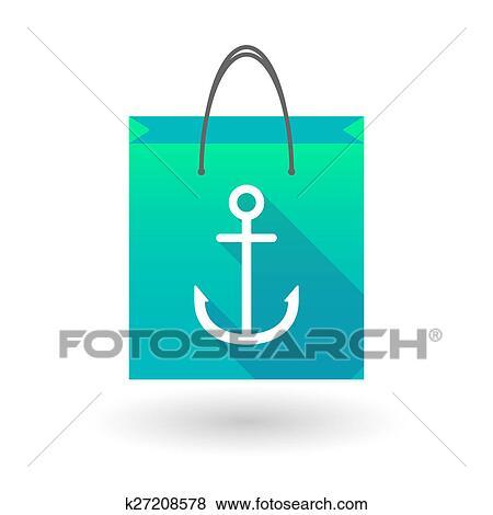 買い物袋 アイコン で 錨 イラスト K27208578 Fotosearch