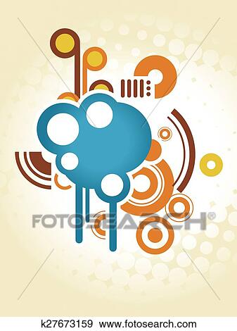 Abstract Shapes Design Clip Art