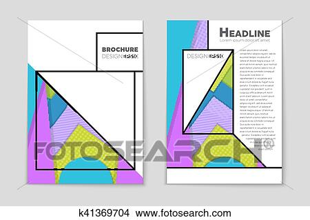 clipart of abstract vector layout background for web and mobile app