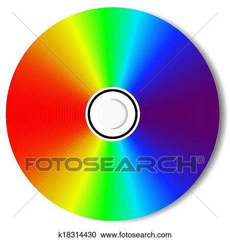 clipart of cd blu ray disc k18314430 search clip art illustration rh fotosearch com cd clip art black and white cd clip art png