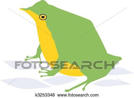 arquivos de ilustração sapo k3253348 busca de clip art