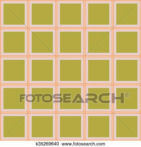 Seamless checkered wallpaper pattern