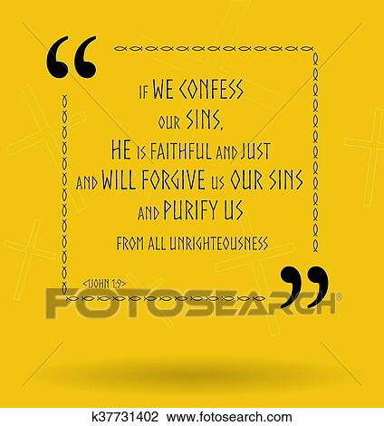 bible quotes about god s forgiveness drawing k fotosearch