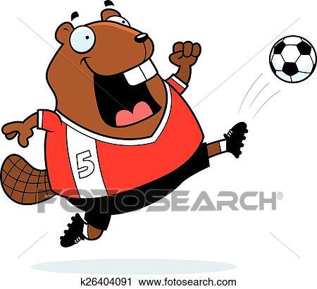 Animation Kicking Football