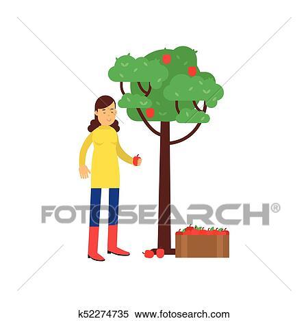 Happy farmers man and woman cartoon character set - Download Free Vectors,  Clipart Graphics & Vector Art