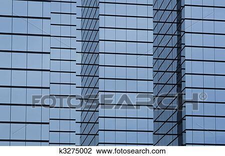 Glass exterior modern office Glass Wall Stock Photo Modern Office Building With Glass Exterior Fotosearch Search Stock Photography Fotosearch Stock Photo Of Modern Office Building With Glass Exterior K3275002