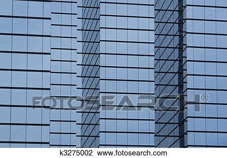 glass exterior modern office. Stock Photo - Modern Office Building With Glass Exterior. Fotosearch Search Photography, Exterior E