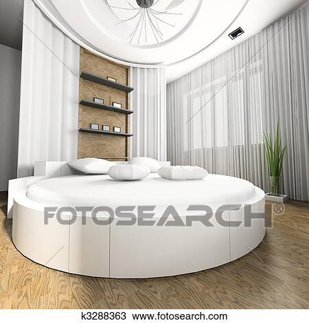 Dessin - chambre à coucher, aujourd\'hui k3288363 - Recherchez des ...