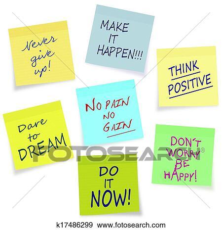 Stock Illustration Of Motivational Slogans Business Private Fascinating Motivational Slogans