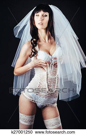nudo sexy signora foto