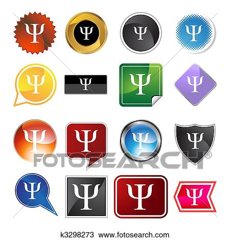 Clipart Of Greek Fraternity Symbol Icon K3298273 Search Clip Art
