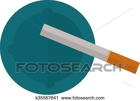 Clipart Icona Sigarette Disegno Idea E Fumo Problema