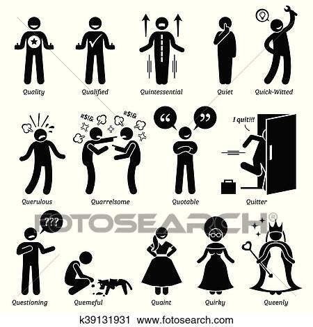 clipart of human character traits k39131931 search clip art