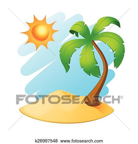 Clipart palmier le k26997548 recherchez des cliparts des illustrations des dessins et - Palmier clipart ...