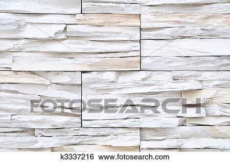 Brique Blanche, Extérieur Pierre, Et, Décoration Intérieure, Construisant  Matériel, Pour, Mur, Finir