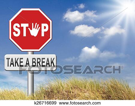 stock illustration of take a break k26716699 search. Black Bedroom Furniture Sets. Home Design Ideas