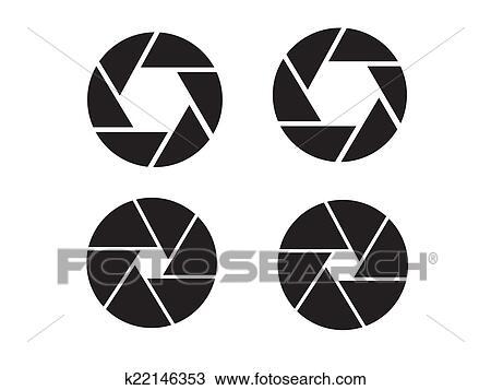 Dessin Appareil Photo dessin - appareil photo, objectif, icône, icône k22146353