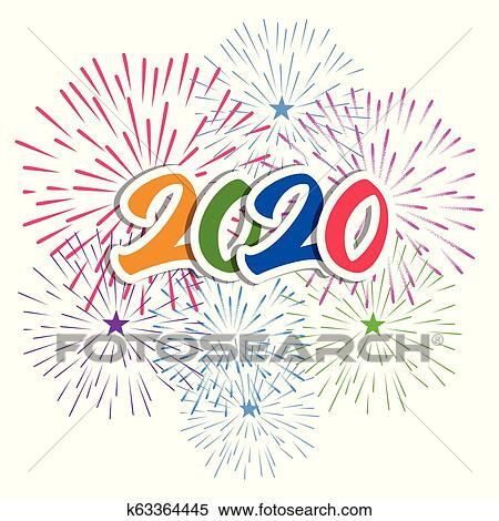 Happy New Year Clipart 2020 90