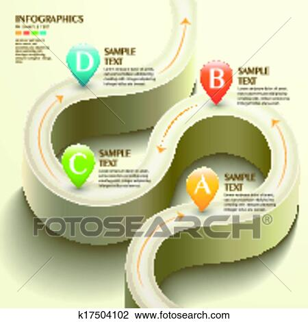Clipart of 3d abstract flow chart infographics k17504102 search clipart 3d abstract flow chart infographics fotosearch search clip art illustration murals ccuart Image collections