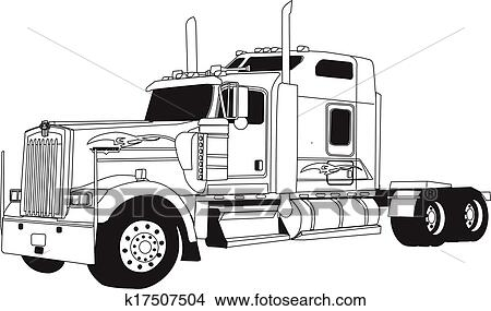 Truck 4466090 further K17507504 likewise Nissan D21 Wiring Diagram Dolgular besides Chalmers 800 Series Truck Rear also Truck Coloring Sheet Pickup Truck Free Coloring Color Pictures. on kenworth truck artwork