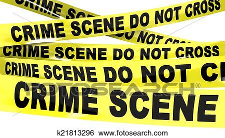 stock images of crime scene do not cross tape k21813296 search