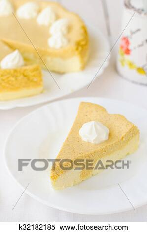 stock image of crustless pumpkin and quark cottage cheese rh fotosearch ie quark cottage cheese cancer quark cottage cheese cancer