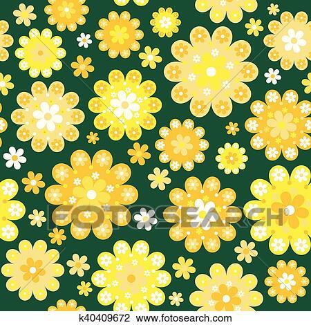 yellow flowers background clipart k40409672 fotosearch https www fotosearch com csp336 k40409672