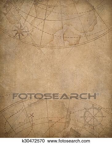 Old map background with copyspace in center Clipart Old Map Background on magazine background, newspaper background, old nautical maps, paper background, wood background, old world cartography, key background, old wallpaper, bouquet background, old compass, old boats, old us highway maps, old treasure maps, space background, city background,
