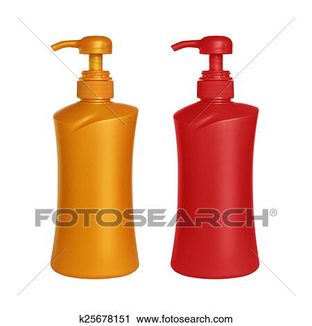 Clipart Gel Foam Or Liquid Soap Dispenser Pump Plastic Pin On White Bac