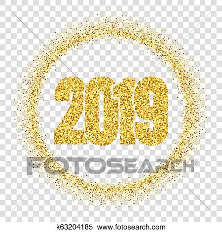 Happy New Year Transparent Background 63