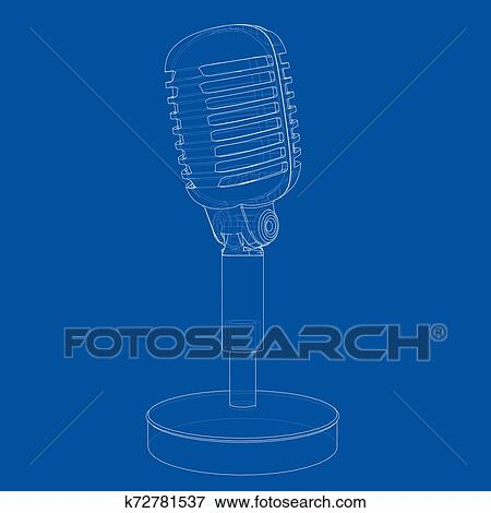 Microphone Clipart Old Style - Microphone Vector Png, Transparent Png ,  Transparent Png Image - PNGitem