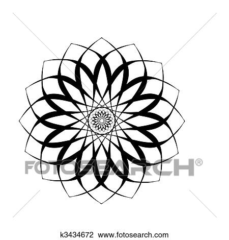 Sunflower Clip Art Black And White , Free Transparent Clipart - ClipartKey