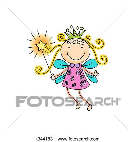 clipart of fairy k3441831 search clip art illustration murals rh fotosearch com clip art fairy godmother clip art fairies free