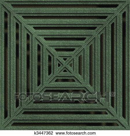 Clip Art - gulli, gitter, seamless, struktur k3447362 - Suche ...