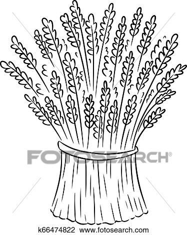 Food, Outline, Plant, Sheaf, Wheat, Flour - Wheat Clip Art - Free  Transparent PNG Clipart Images Download