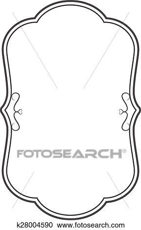 Vintage Design Frame Clipart K28004590