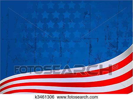 clip art american flag background fotosearch search clipart illustration posters drawings