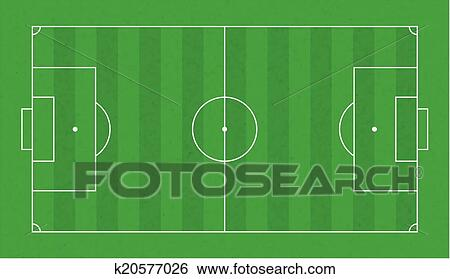 American Football Field. Green Grass Football Court. Template.. Royalty  Free Cliparts, Vectors, And Stock Illustration. Image 127855124.