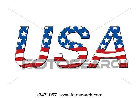 アメリカ イラスト K3471057 Fotosearch