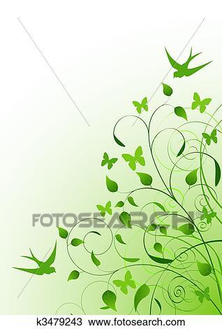 Clipart Frühling Hintergrund K3479243 Suche Clip Art