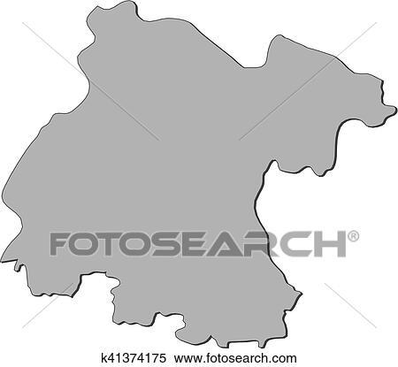 Mexico Map Guanajuato.Clipart Of Map Guanajuato Mexico K41374175 Search Clip Art