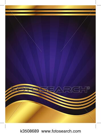 clip art of elegant purple and gold background k3508689 search
