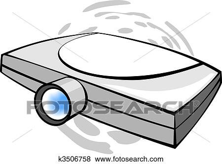stock illustration of projectorillustration of wall projector rh fotosearch com film projector clipart movie projector clipart
